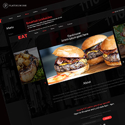 EAT Noho web mockup